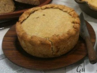 Freestanding Pork and Beef Pie