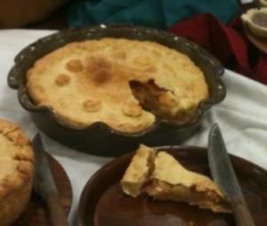 Apple & Pear Tart - Atlantia Royal Baker Competition 2013